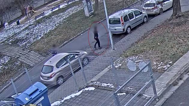 VIDEO: Napadal ženy a bral jim kabelky. Vypátrali ho s pomocí služebního psa