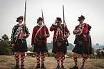 Highland games na brněnské Kraví hoře. Ilustrační foto.