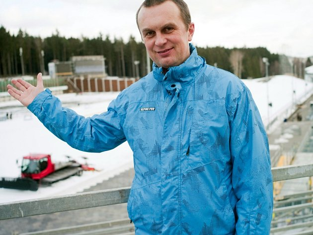 Generální manažer biatlonového svazu Jiří Hamza.