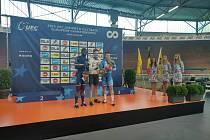 Bronzový medailista v kilometru na mistrovství Evropy do 23 let.