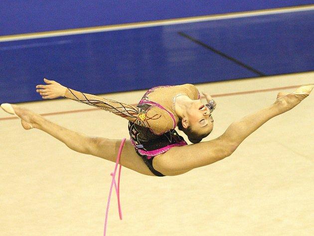 Gymnastka Jevgenija Kanajevová