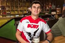 Pavel Knecht v dresu FC Boby Brno Hrdlořezy.
