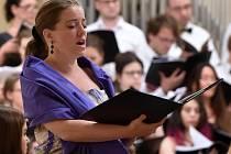 V sobotu večer rozezněly brněnský Besední dům melodie od Antonína Dvořáka. Asi padesátičlennému publiku je tam zazpíval sbor mladých mediků a lékařů z celé Evropy.