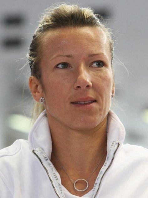 Tenistka Květa Peschkeová.