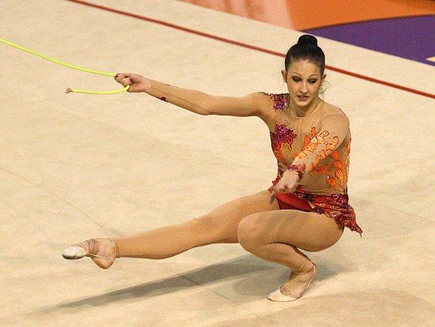 Gymnastka Monika Míčková.