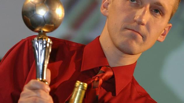 Nohejbalista roku - vítěz Petr Bubniak.
