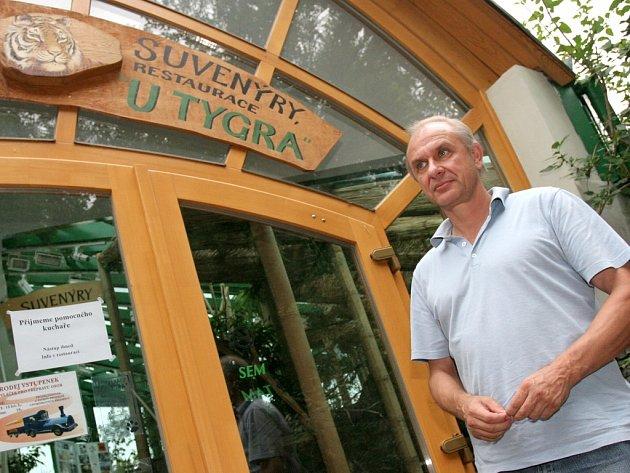 Ředitel brněnské zoo chodí na jídlo do restaurace U tygra.