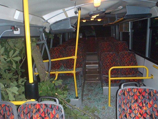 Zranění dítěte způsobila pondělní vichřice, která přišla spolu s deštěm na Brněnsko. V Zastávce poryvy větru porazily strom právě na projíždějící autobus.