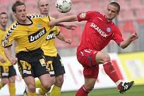 Fotbalista Karel Večeřa.