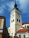 4. místo v kategorii velké stavby: Věž kostela sv. Václava v Mikulově.