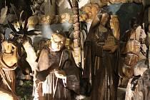 Zájemci si při komentované procházce prohlédli betlémy vystavené uvnitř kostelů v centru Brna.