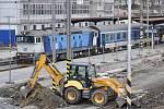 Stavba nového vlakového nádraží v Brně se může zdržet.