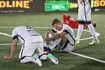 Finále Eura v malém fotale mezi Českou republikou a Ruskem skončilo 1:1, penaltový rozstřel vyzněl 3:2 pro Rusko.