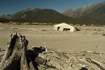 Chilské město Chaitén zničené v roce 2008 výbuchem sopky.