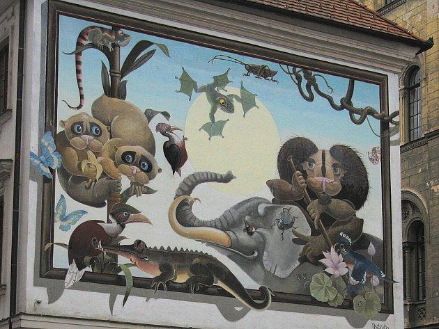 Známá malba Libora Vojkůvky