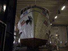 Právě přípravě lodí z Brněnské přehrady na zimu je věnovaný díl seriálu Za zavřenými dveřmi.