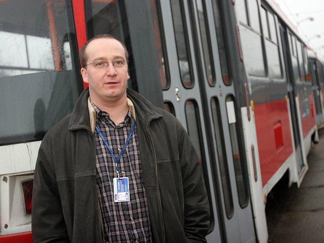 Vedoucí dopravního odboru DPMB Jan Seitl.