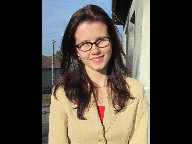 Studentka informačních technologií brněnského Vysokého učení technického Anna Popková.