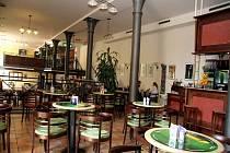 Interiér restaurace Pivovarská