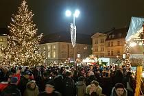 Brno 5.12.2019 - vánoce na brněnském Zelném trhu