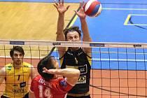 Volejbal Brno vs. České Budějovice 0:3.