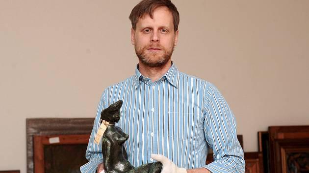 Ředitel Moravské galerie v Brně Jan Press.