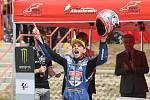 A v následném závodě finišoval na třetí pozici a postaral se o možná poslední pódium domácího jezdce v Grand Prix České republiky.