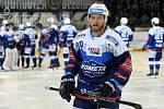 HC Kometa Brno v modrém (Martin Dočekal) proti HC Sparta Praha.