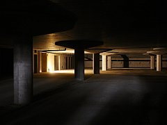 První etapa projektu Janáčkova kulturního centra zahrnuje hrubou stavbu podzemních garáží.