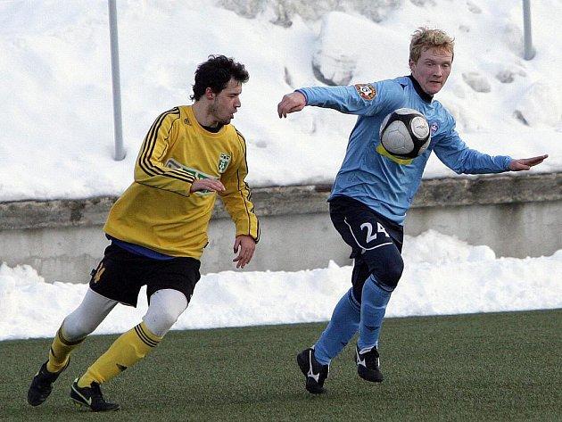 Fotbalisté 1. FC Brno porazili v přípravném zápase Karvinou 2:1.
