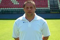 Asistent trenéra 1.FC Brno Karla Večeři Petr Čuhel.