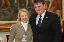 Jana Novotná a Ivo Kaderka.
