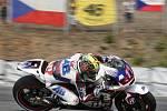 Královskou třídu MotoGP ovládl Španěl Jorge Lorenzo na Yamaze. Na Hondě dojel druhý další španělský závodník Marc Márquez. Třetí už s větším odstupem finišoval hvězdný Ital Valentino Rossi. Abraham skončil poslední.