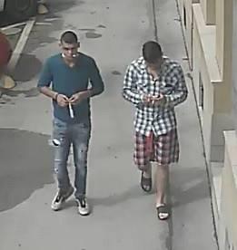 Koncem srpna šestnáctiletému chlapci za bílého dne zastoupili cestu na chodníku v brněnském Králově Poli dva neznámí mladí muži a chtěli po něm peníze.