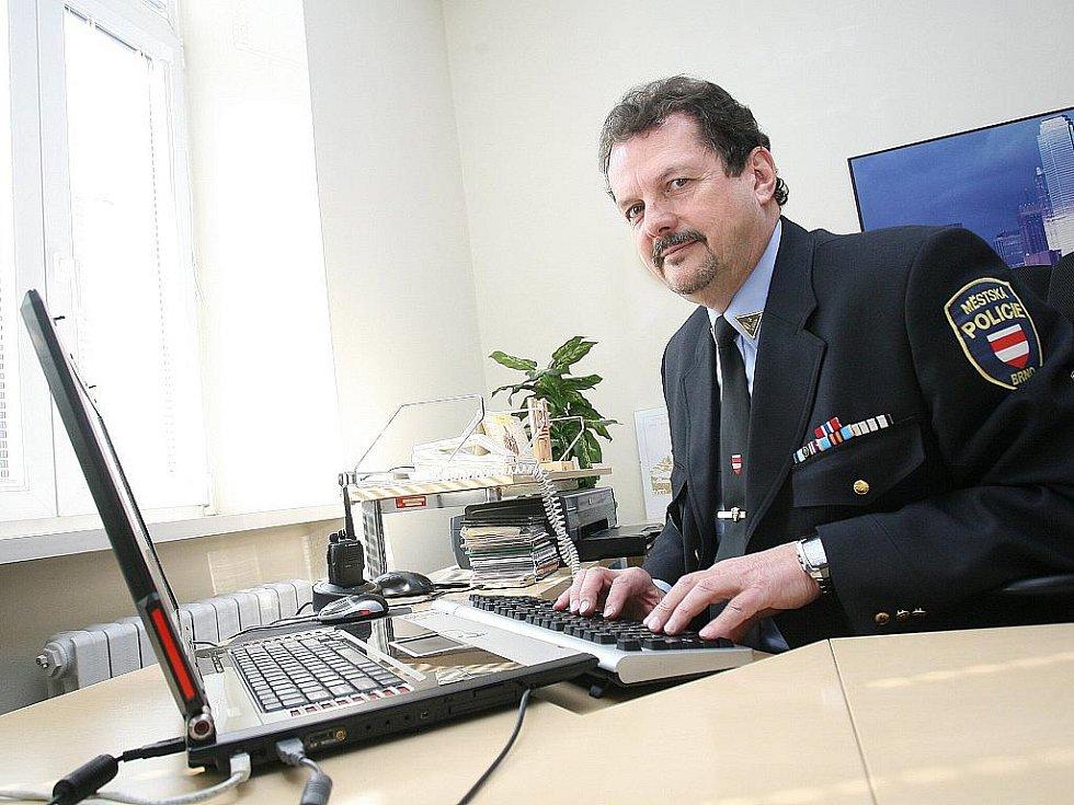 Bývalý ředitel Městské policie Brno Jaroslav Přikryl.