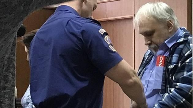 Obžalovaný Vojtěch Blatný.