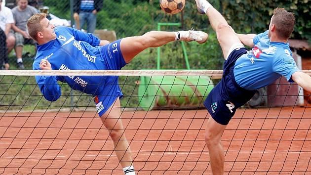 Modřičtí nohejbalisté - ilustrační foto.