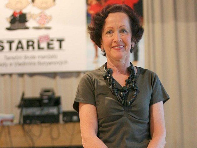 Vlasta Buryanová, lektorka v taneční škole STARLET