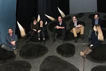 Osoby, které stojí za novou operou Čarokraj, která bude mít premiéru v brněnském Janáčkově divadle příští pátek.