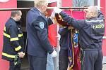 Velešovičtí hasiči.