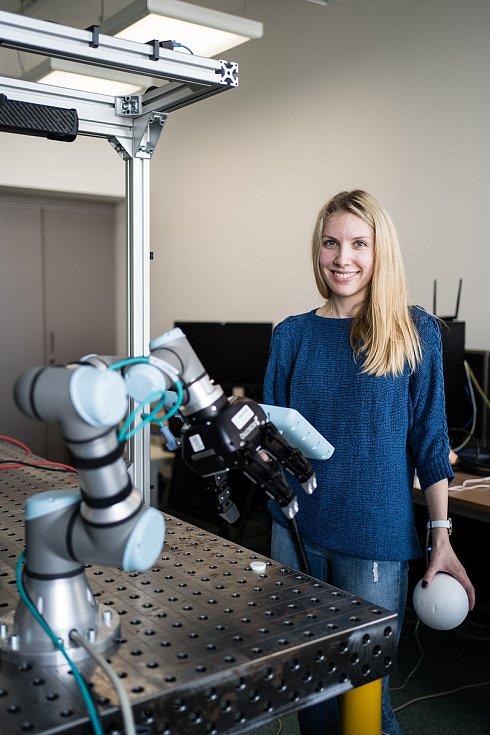 Dominika se ve své diplomové práci na FSI věnuje optimalizaci algoritmu. Ještě před rokem přitom v dokončení studia spíš nevěřila.
