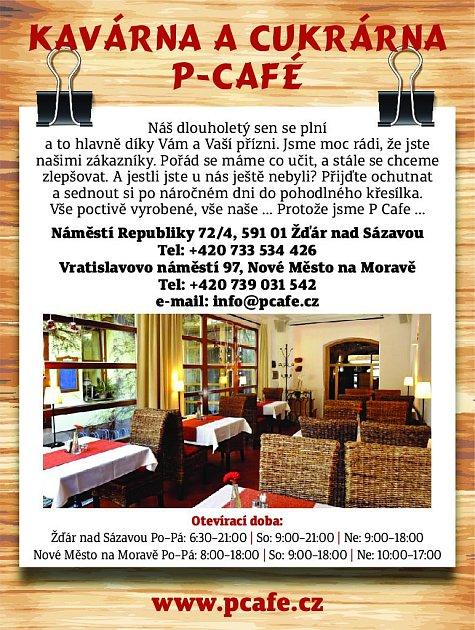 38. P-café Nové Město na Moravě
