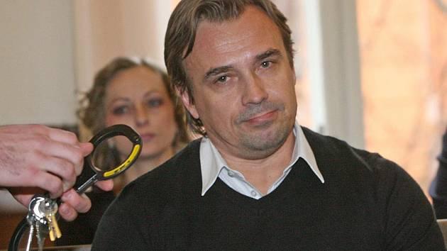 Jiří Mauritz před Krajským soudem v Brně.