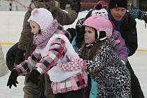 Veselý karneval na ledě.