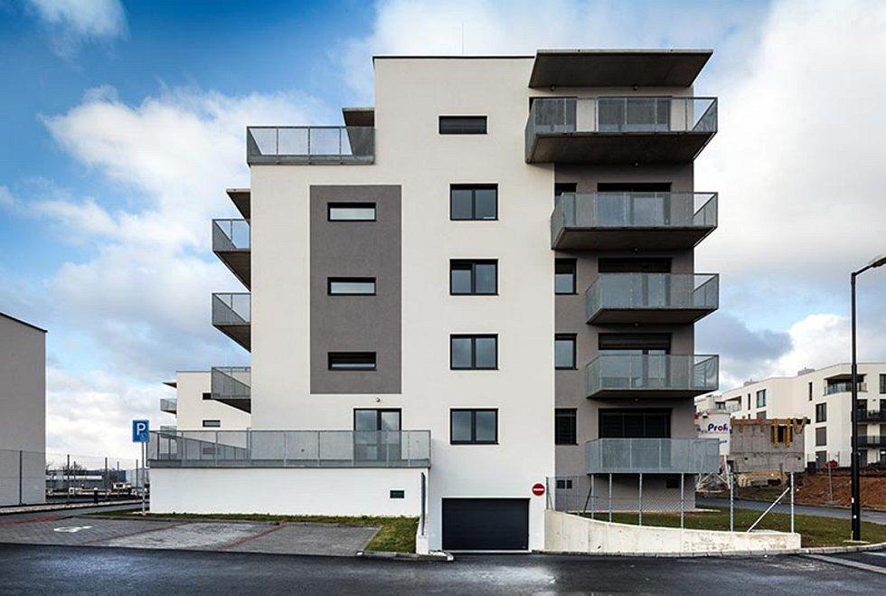 Panorama Kociánka, bytové domy E a F v Brně, 2. místo v kategorii Bytové stavby.