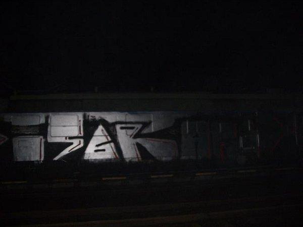 Gang sprejerů si na Brněnsku zastavil vlak, který pak pomaloval.