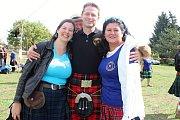 V areálu na brněnské Kraví hoře se v sobotu konaly skotské hry Monte Bú Highland Games.