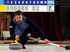 Brněnský hráč curlingu Jiří Snítil. Archivní snímek.