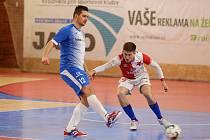 Helas Brno prohrál v prvním utkání po restartu ligy se Slavií 1:4. Foto: efutsal.cz