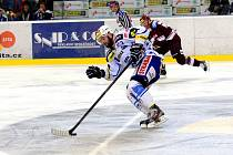Hokejová Kometa Brno promrhala možnost mečbolu na postup do finále. Podlehla Spartě 0:2.